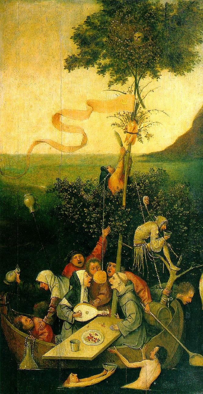 Hieronymus Bosch - Das Narrenschiff
